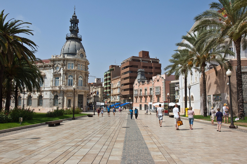 Cartagena Spain  city images : It was one of the important cities during the Umayyad invasion of ...