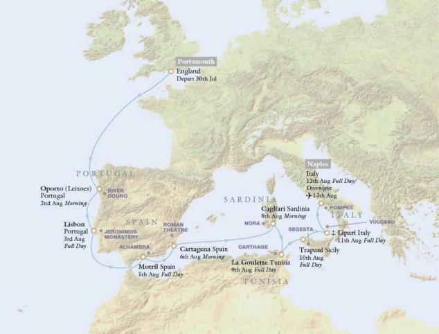 map uk rome