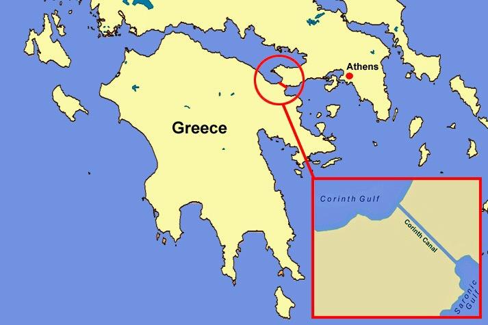 Hidden Treasures of the AdriaticDay 13Corinth Canal basia zarzycka