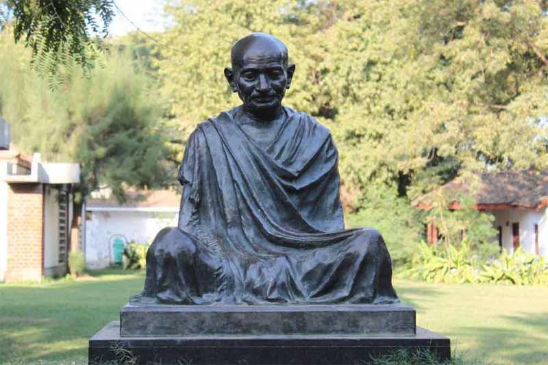 Gandhi-statue-Ahmedabad-India