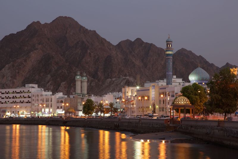 Muttrah-Corniche-in-Muscat-Sultanate-of-Oman